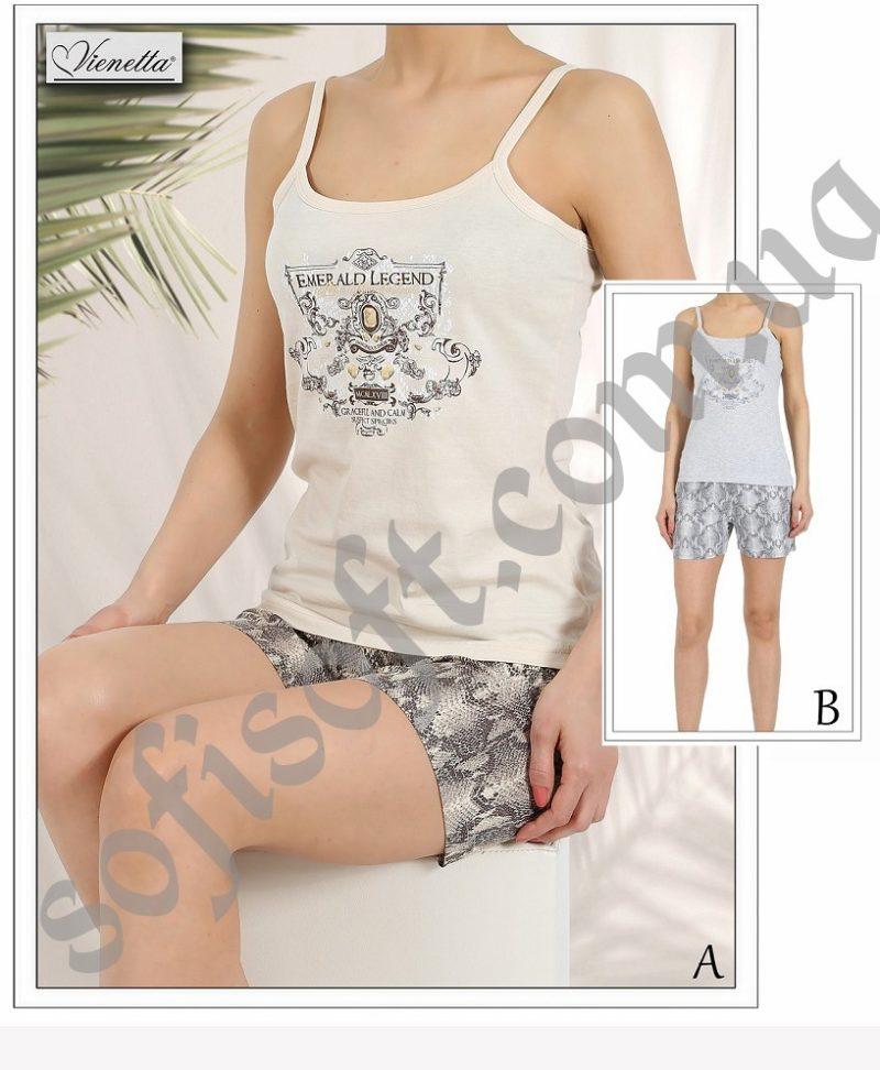 Пижама женская шорты 4081264001