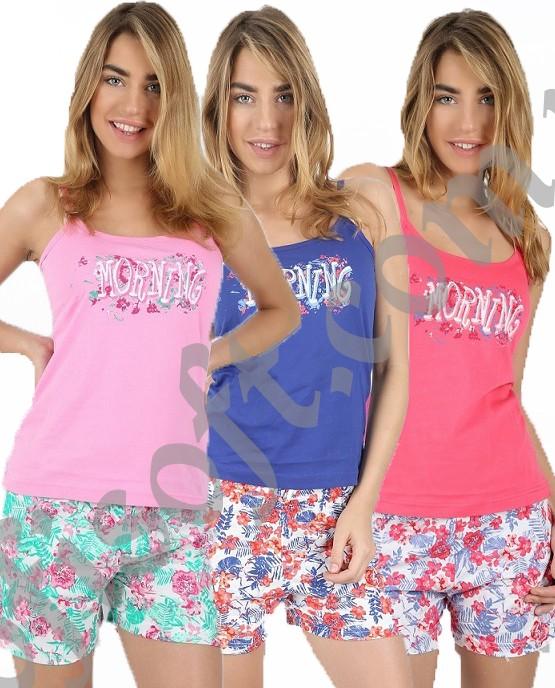 Пижама женская шорты 4090764001