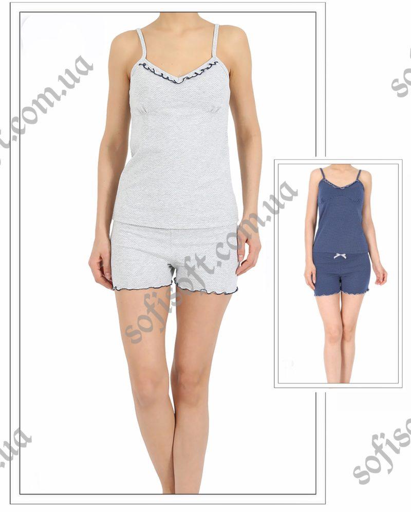 Пижама женская шорты 4100684951