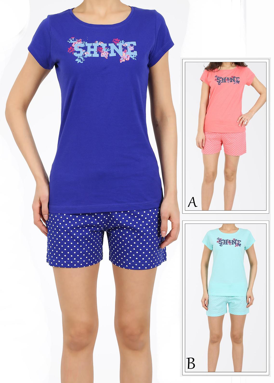 Пижама женская шорты 4110174699