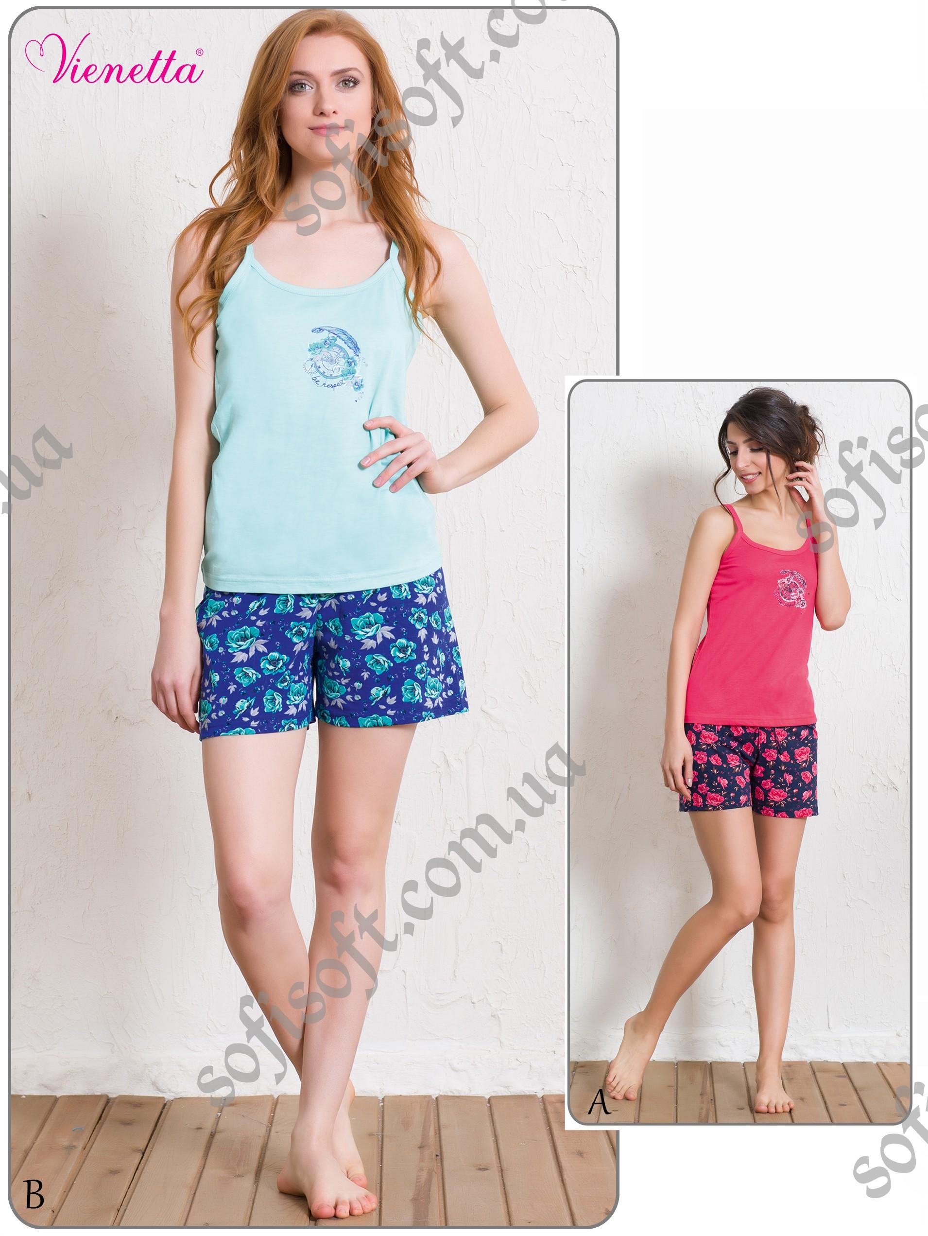Пижама женская шорты 5111495283