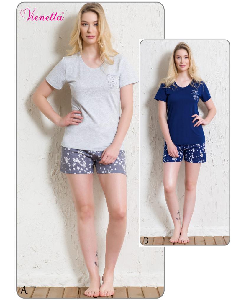 Пижама женская шорты 5120685432