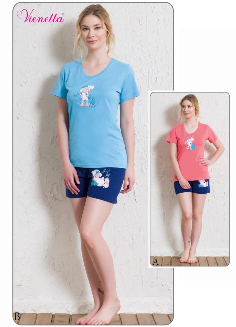 Пижама женская шорты 5121565509