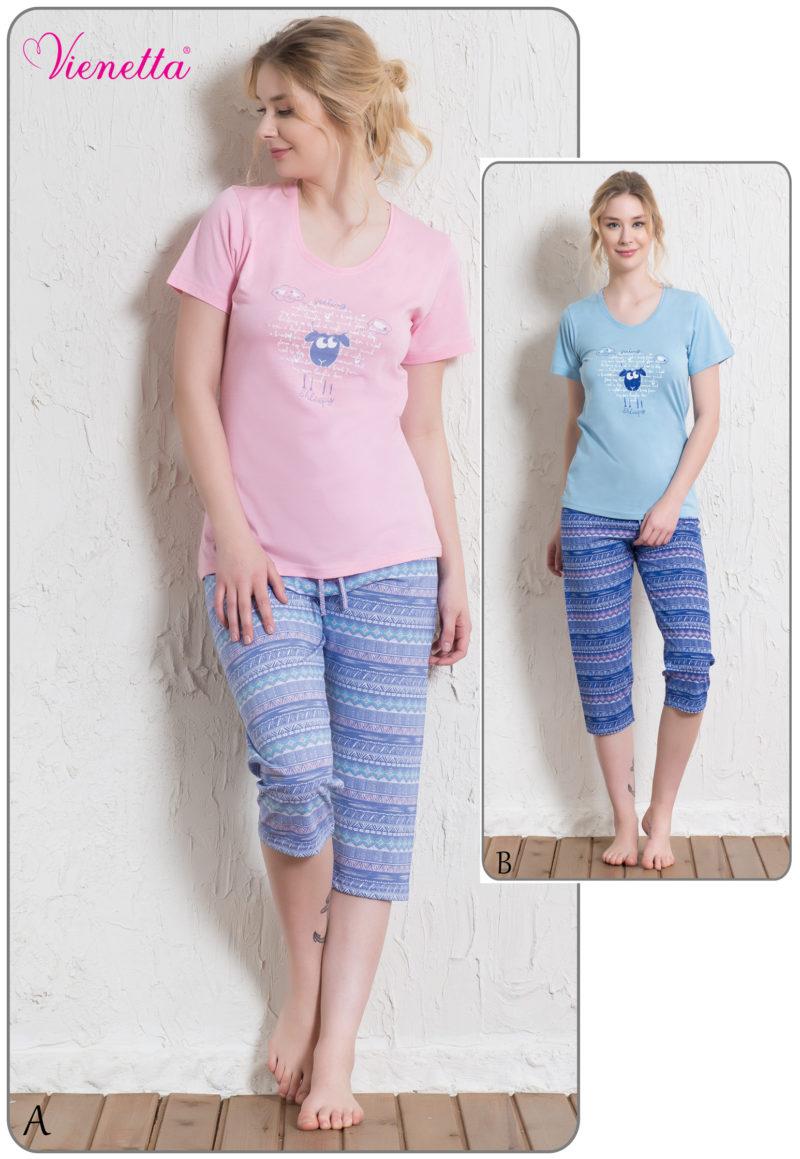 Пижама женская Капри 5122065553