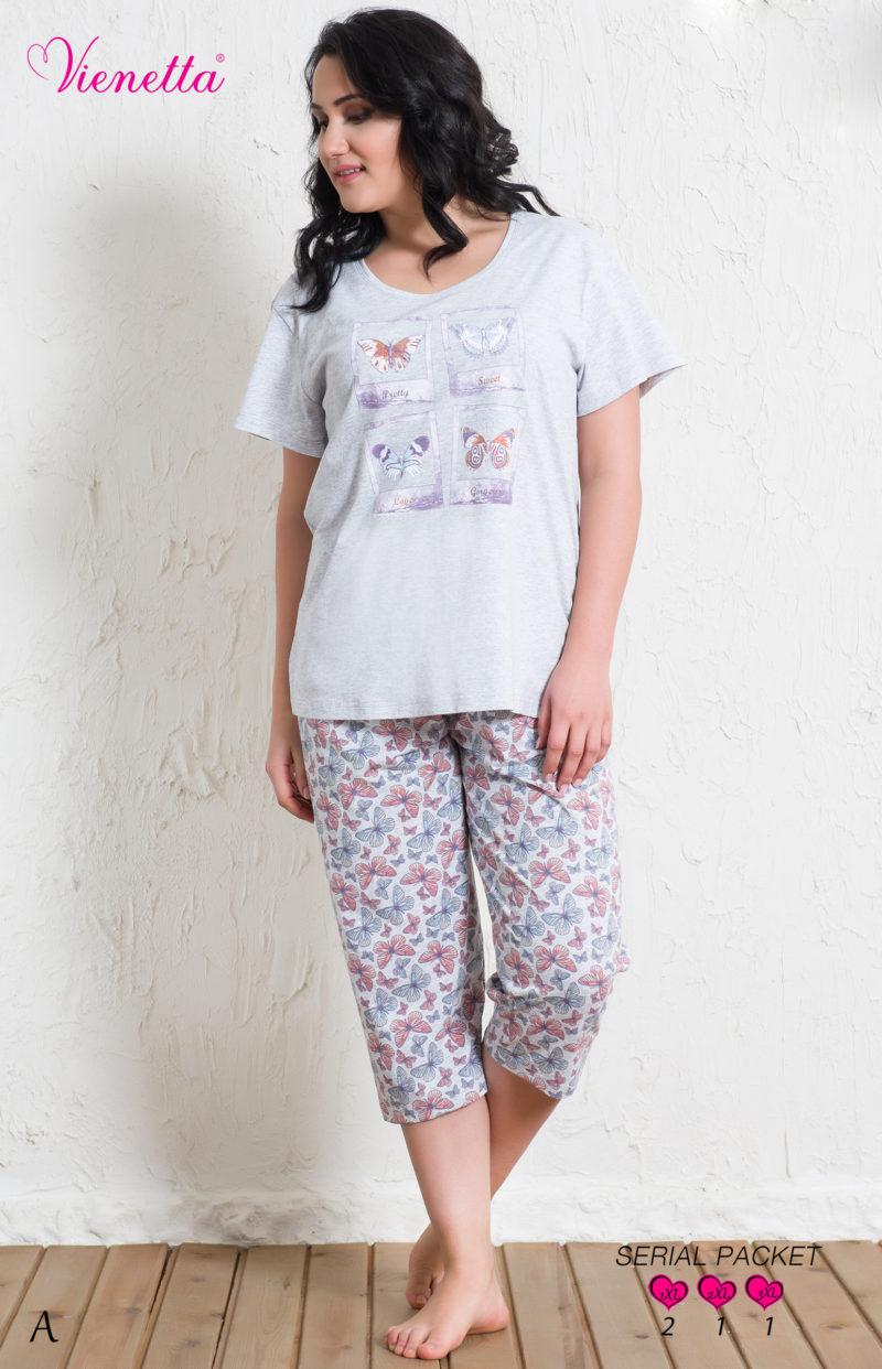 Пижама женская Капри 5122095556