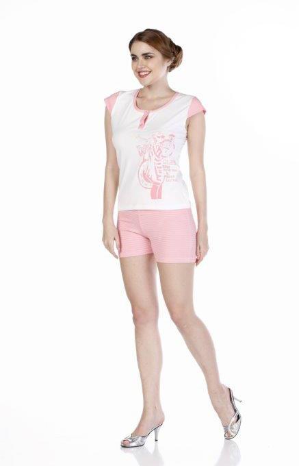 Пижама женская шорты Metin 8536