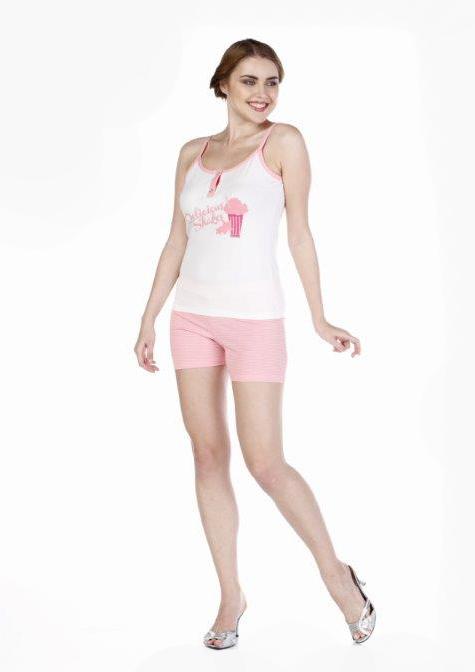 Пижама женская шорты Metin 8556