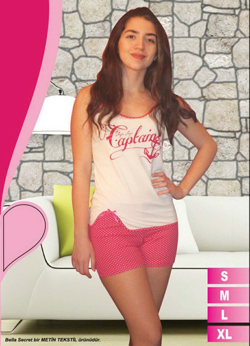 Пижама женская шорты Metin 8570