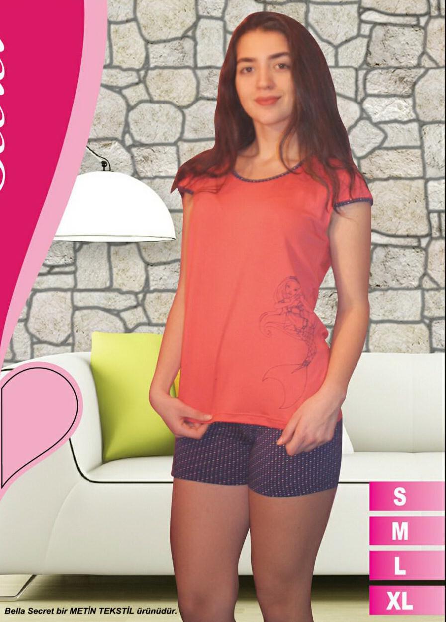 Пижама женская шорты Metin 8586