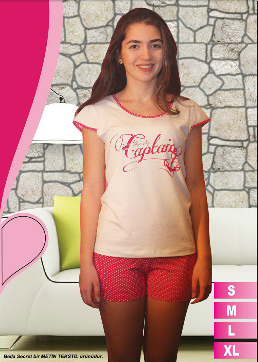 Пижама женская шорты Metin 8590