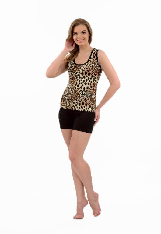 Пижама женская шорты Metin 9780