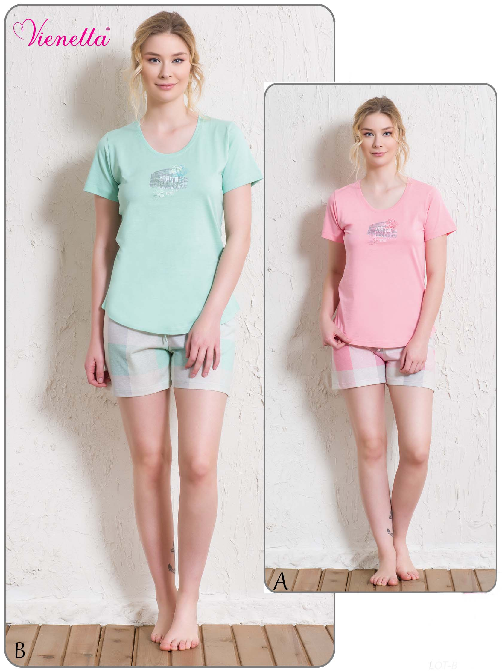 Пижама женская Шорты 5120175395