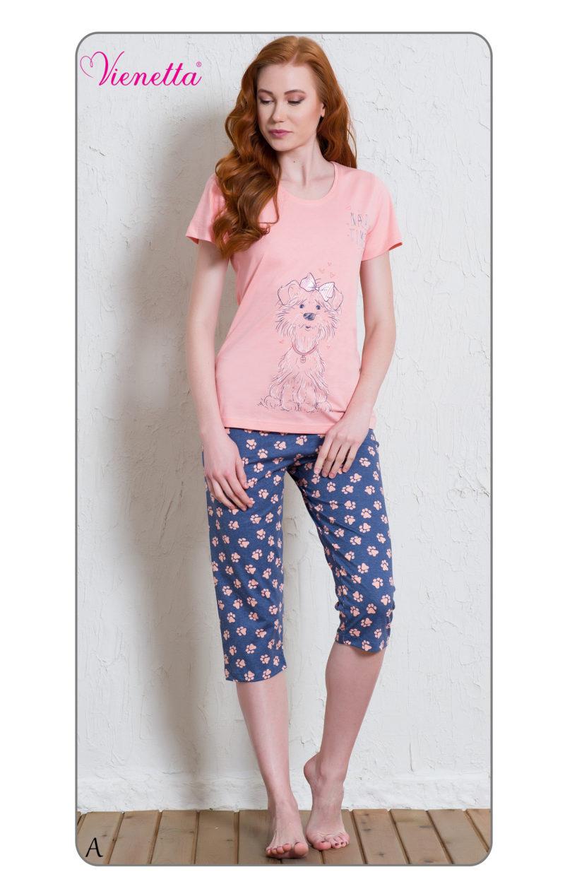 Пижама женская Капри 6010095575