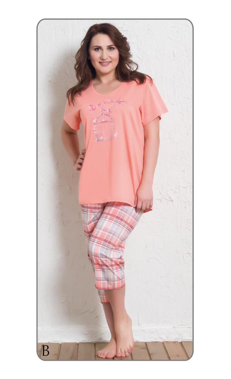Пижама женская Капри 6010605619