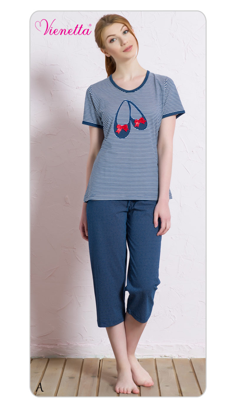 Пижама женская Капри 6040052087