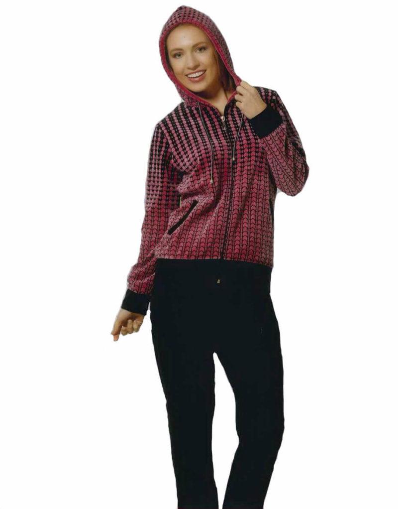 Костюм женский велюр Romeo Life 2164