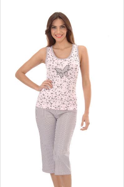 Пижама женская капри Metin 4912