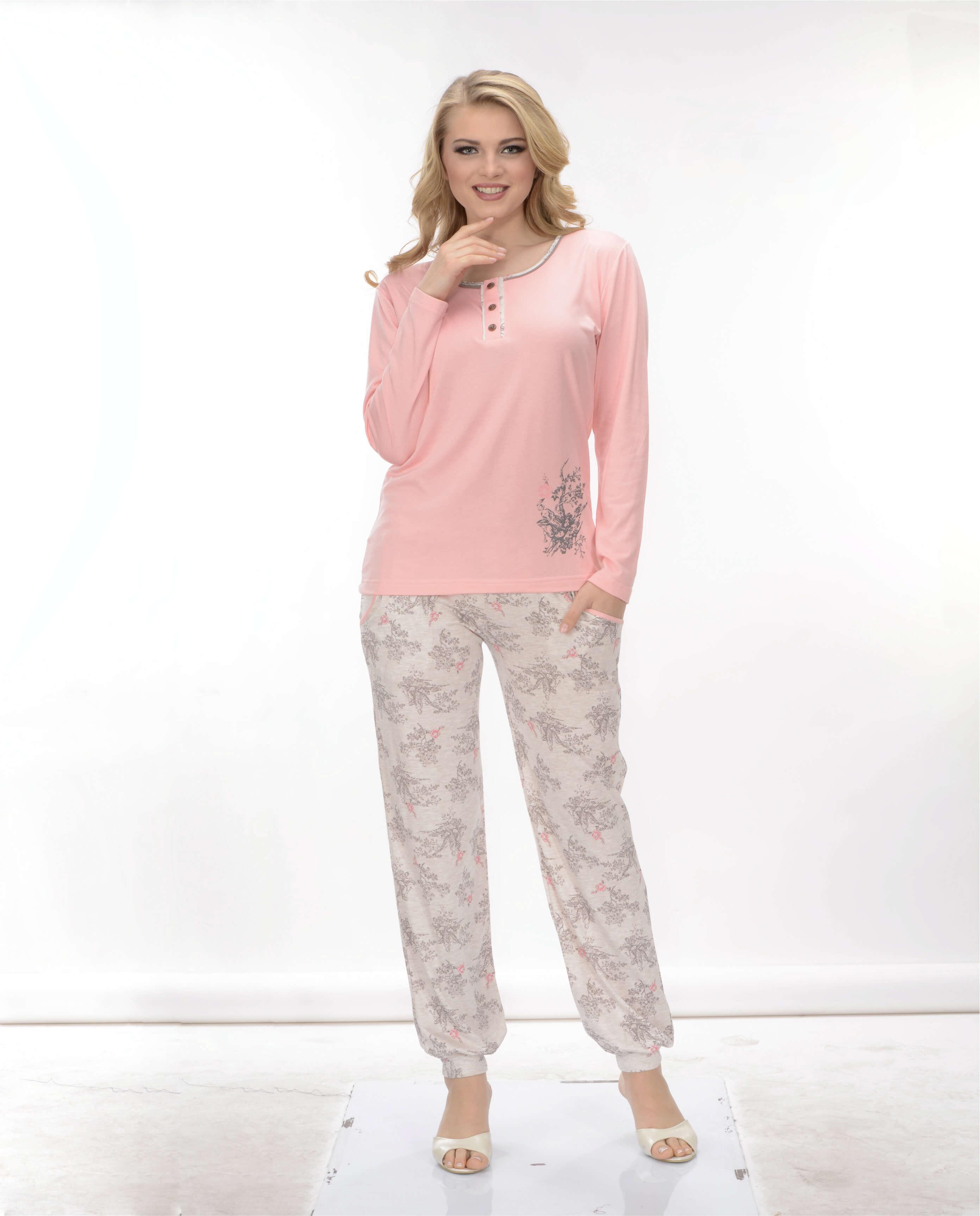 Пижама женская брюки Metin 5680