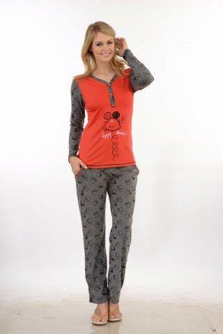 Пижама женская брюки Metin 5668