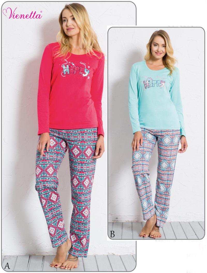 Пижама женская брюки 6040250642