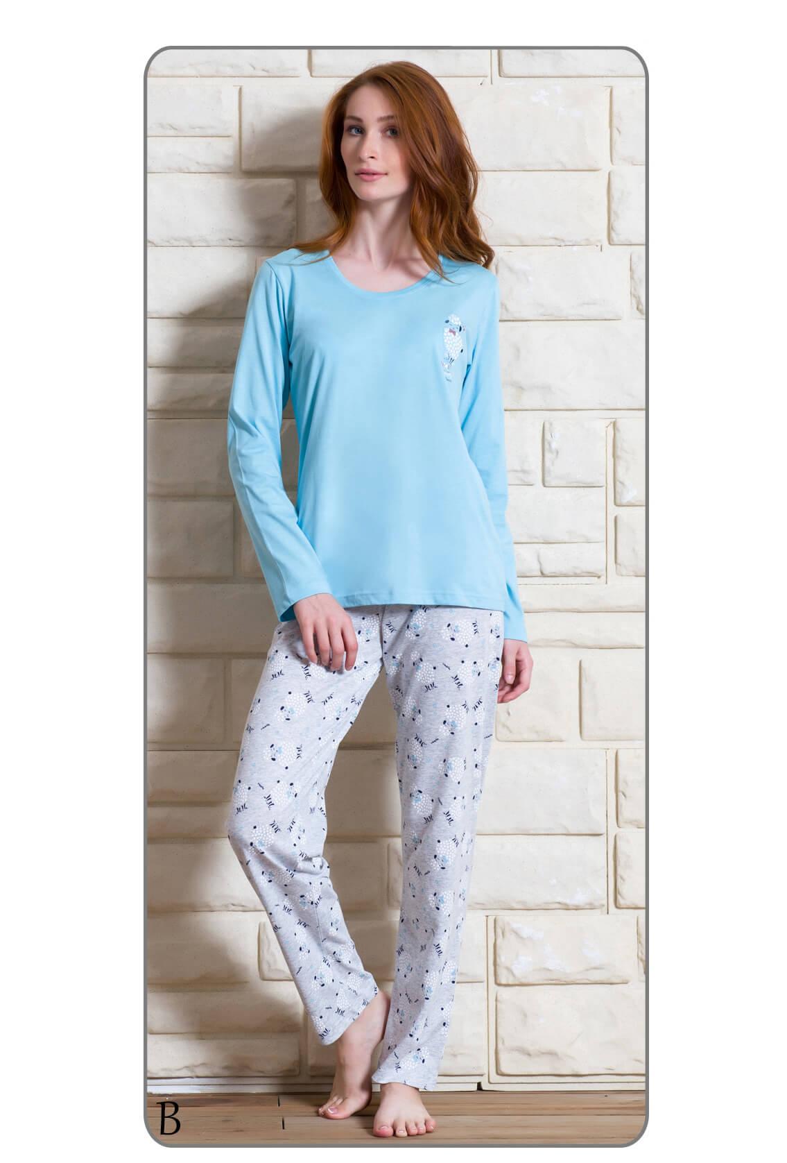 Пижама женская брюки 6051580072