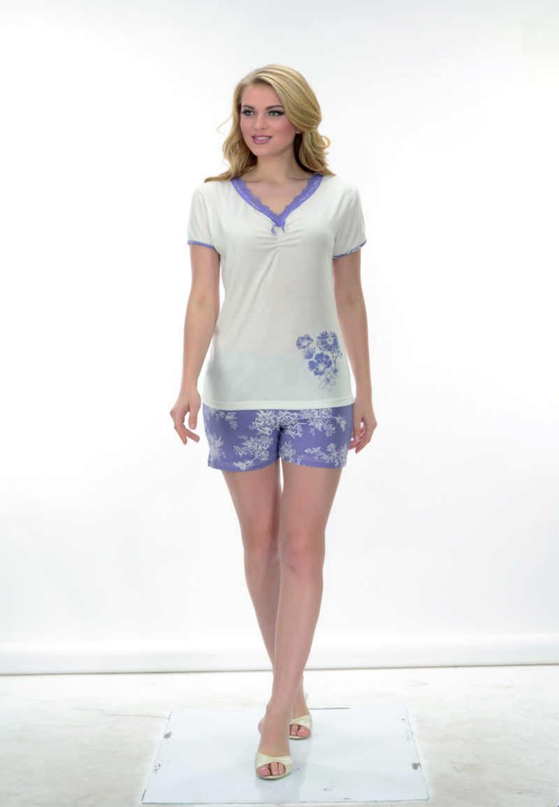 Пижама женская шорты Metin 8608
