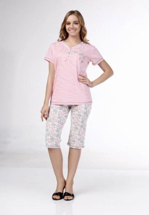 Пижама женская капри Metin 9192