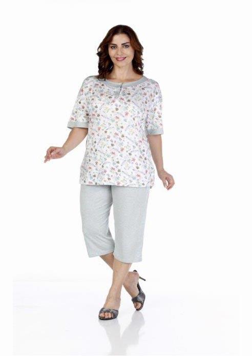 Пижама женская капри Metin 9215