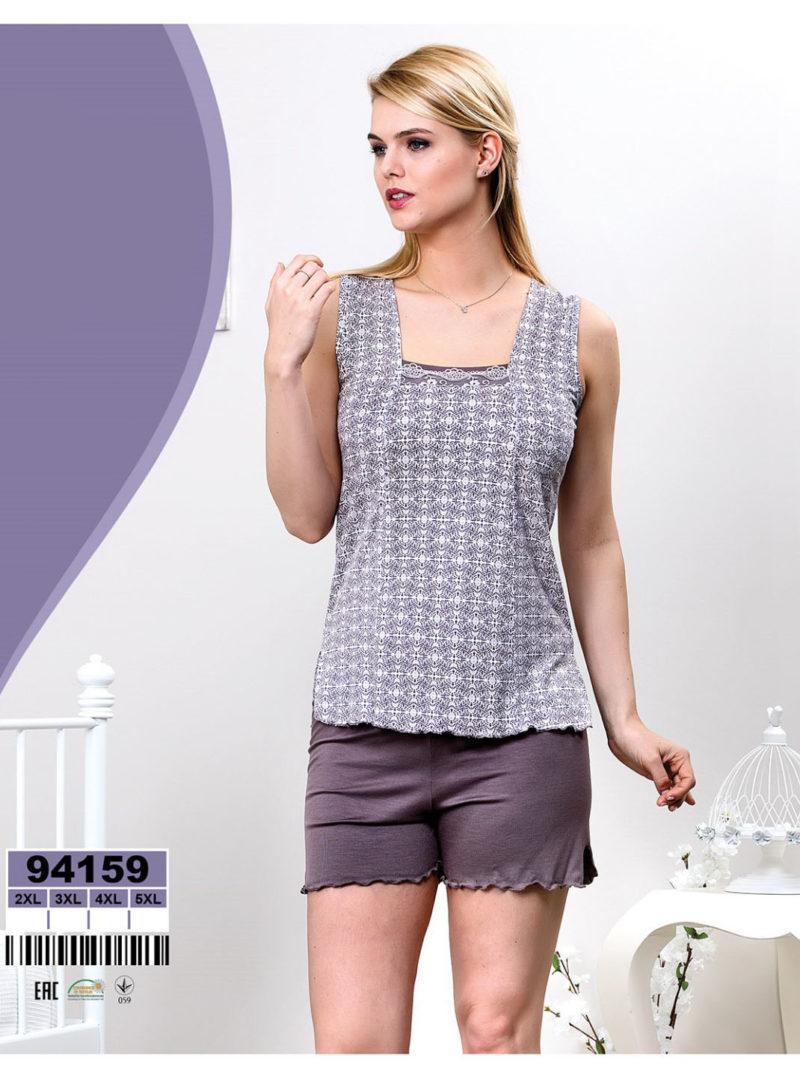 Пижама женская шорты Caroline 92159