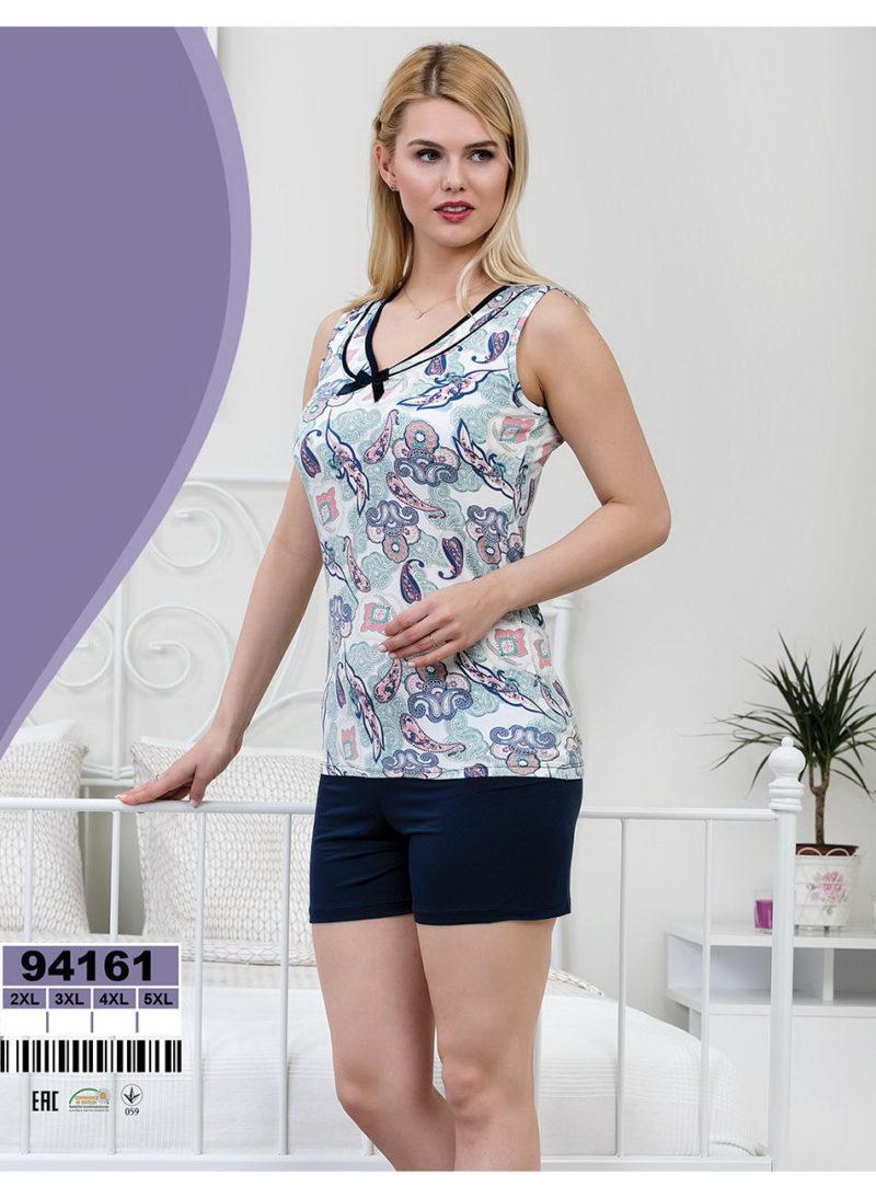 Пижама женская шорты Caroline 92161