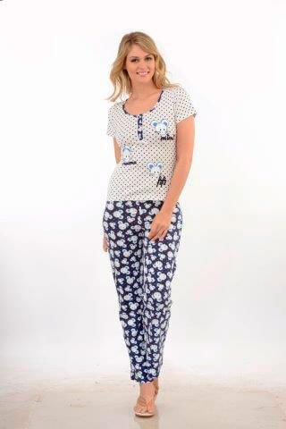 Пижама футболка брюки Metin 9518