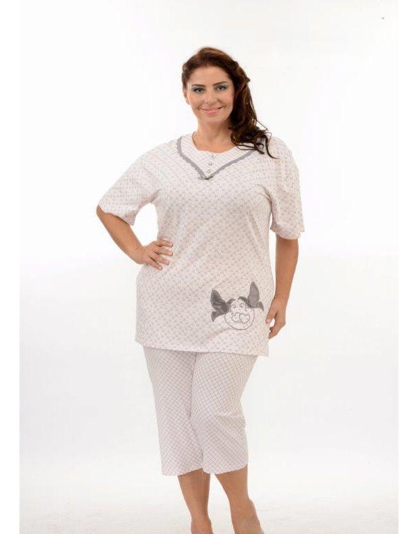 Пижама женская капри Metin 9891