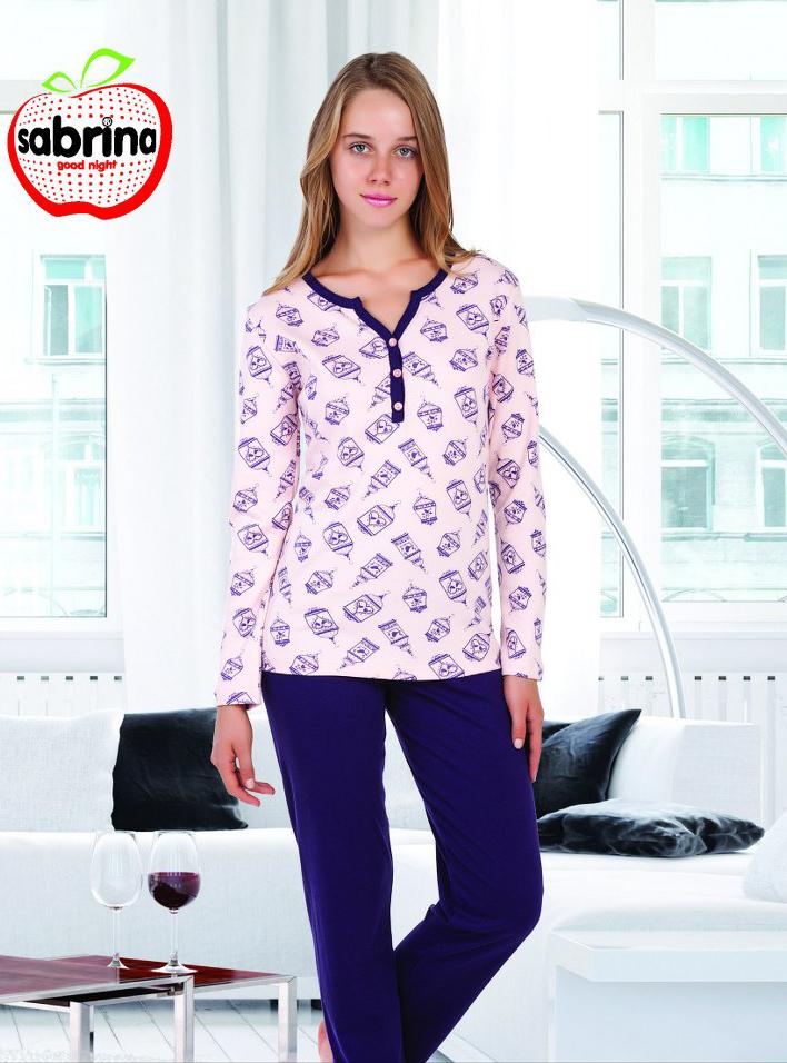 Пижама женская SAB.V 45081 MOR