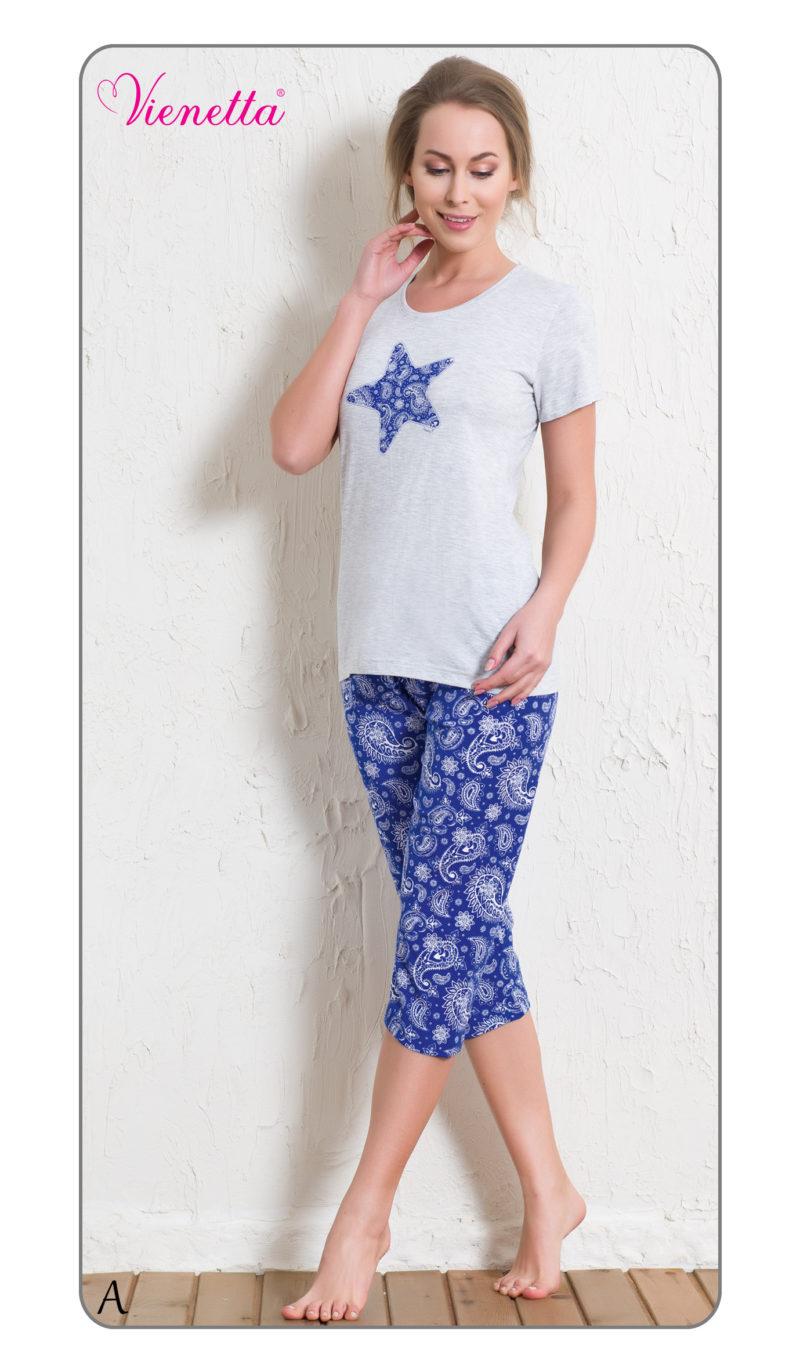 Пижама женская Капри 5120595423