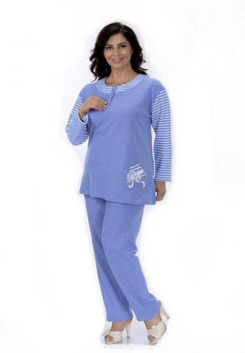 Пижама женская брюки Metin 5743
