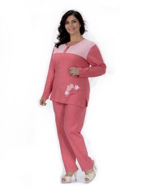 Пижама женская брюки Metin 5745