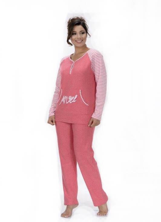Пижама женская брюки Metin 5756