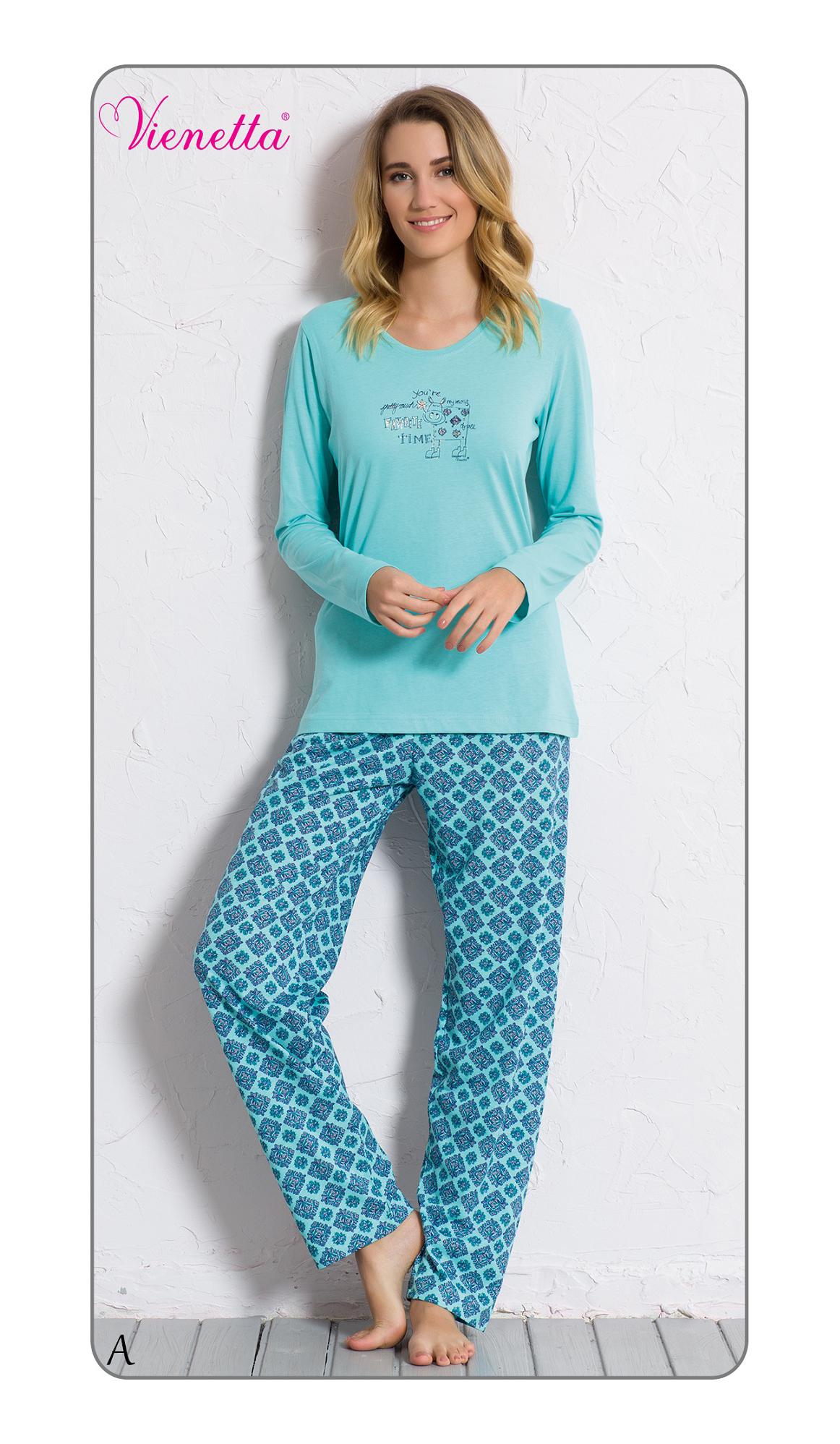 Пижама женская брюки 6040382186