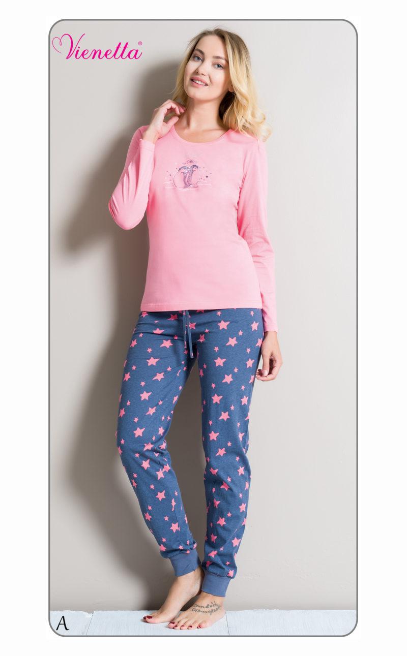 Пижама женская брюки 6040482137