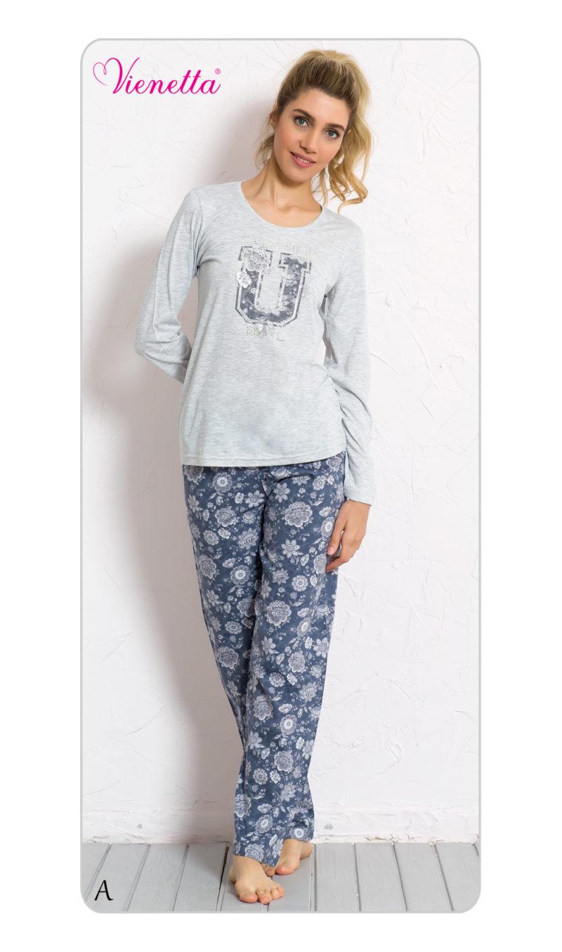 Пижама женская брюки 6040595038