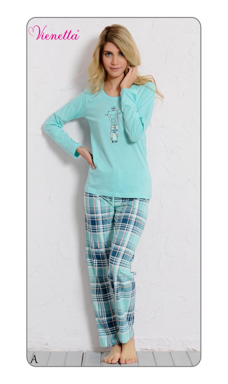 Пижама женская брюки 6040614493
