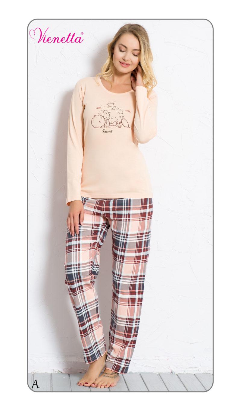 Пижама женская брюки 6040725715