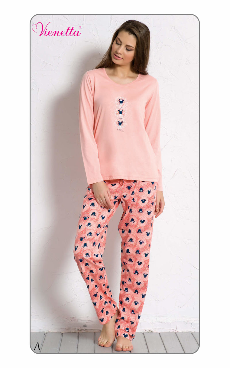 Пижама женская брюки 6051460073
