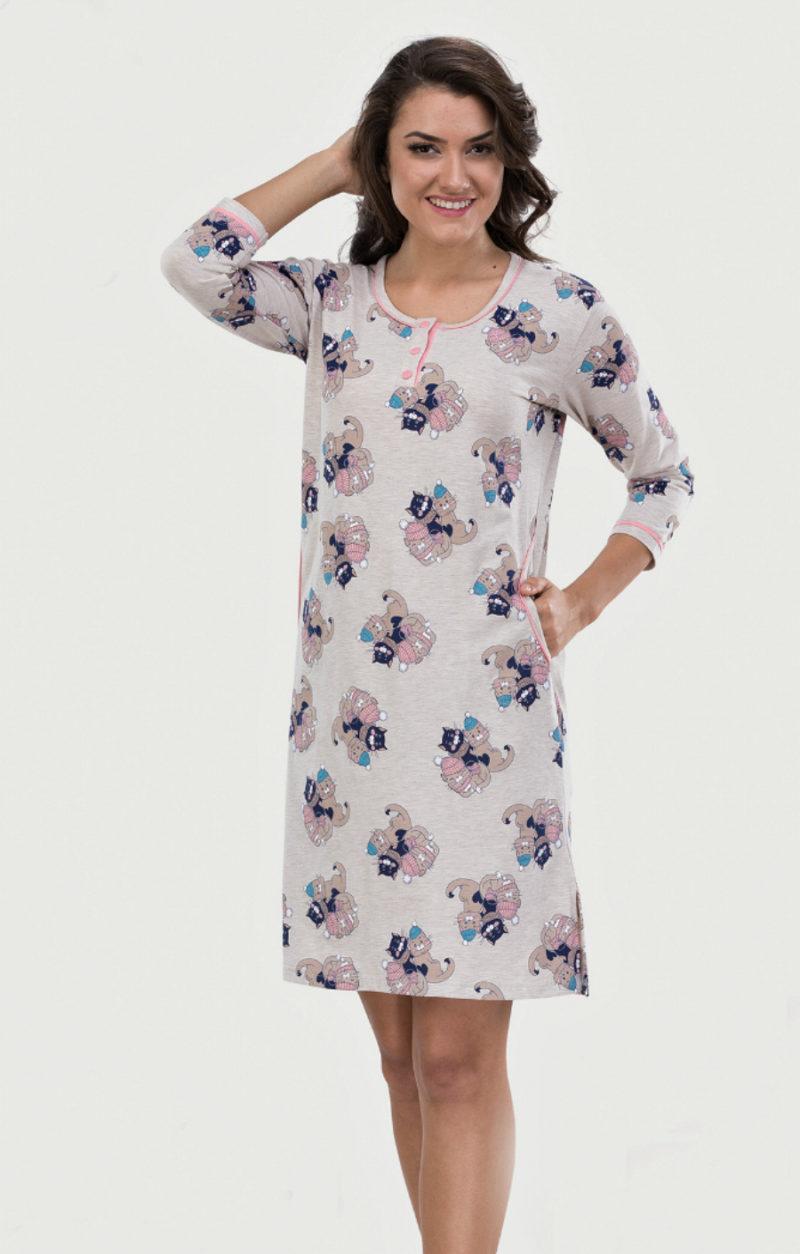Ночная рубашка Metin 6962
