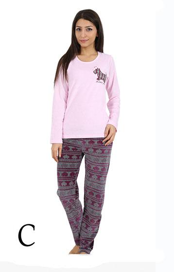 Пижама женская велюр 4090954508
