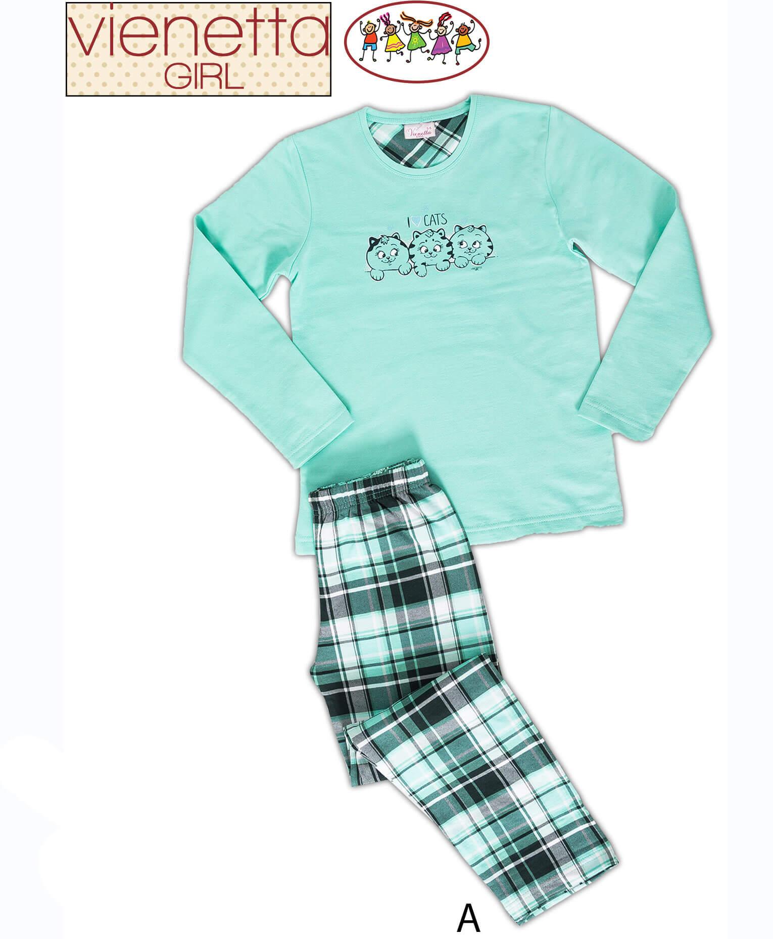 Пижама детская байка 6051212122