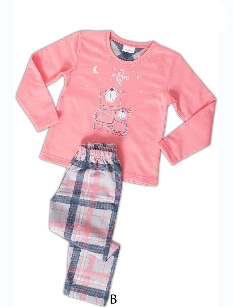 Пижама детская байка
