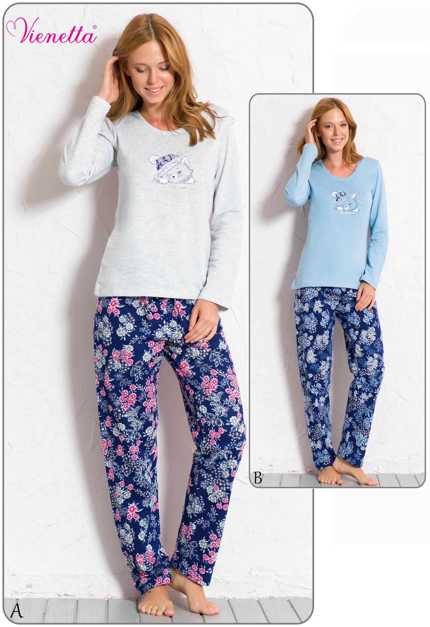 Пижама женская Байка 6060470311