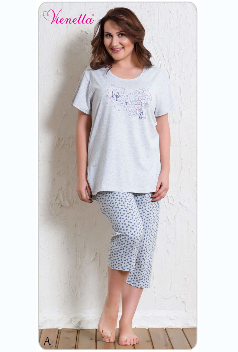 Пижама женская Капри 6070301891