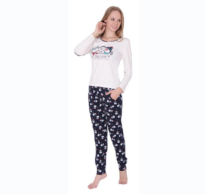 Пижама женская брюки 86686